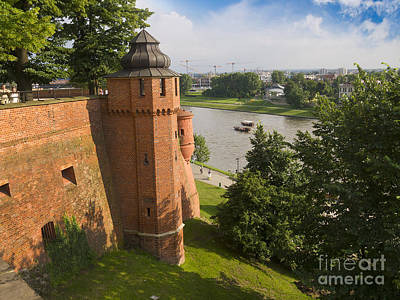 Photograph - Wawel Fortifications by Brenda Kean
