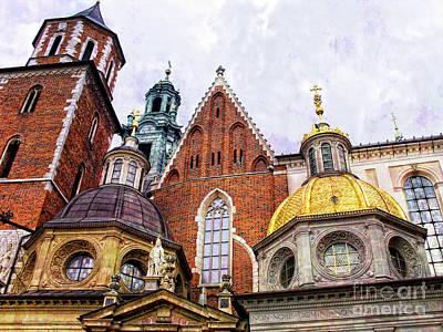 Krakow Photograph - Wawel by Justyna JBJart