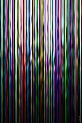 Digital Art - Waxy Lines by Matt Lindley