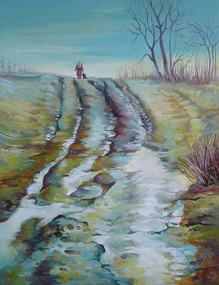 Way Home Art Print by Elena Oleniuc