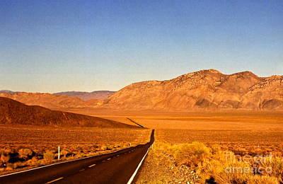 Photograph - Way Open Road by Byron Varvarigos