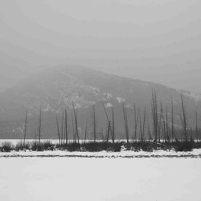 Photograph - Way To Banff . Snowy by Cheryl Miller