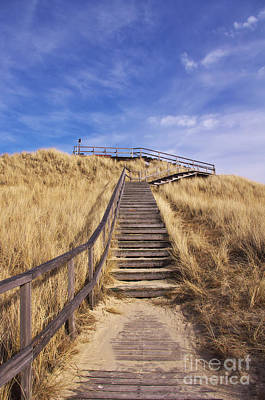 Way To Dune Print by Angela Doelling AD DESIGN Photo and PhotoArt