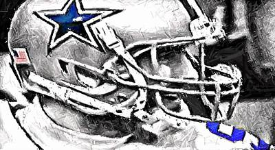 Digital Art - Way To Go Romo by Carrie OBrien Sibley