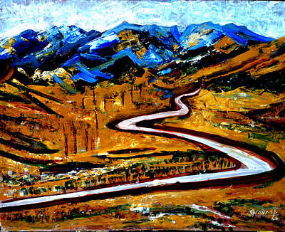 Painting - Way To Manssarovar by Anand Swaroop Manchiraju