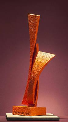 Sculpture - Way Word Son by Richard Arfsten