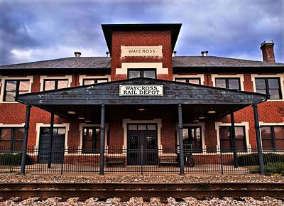 Art Print featuring the photograph Waycross Depot by Laura Ragland