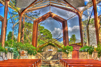 Photograph - Wayfarers Chapel by Heidi Smith