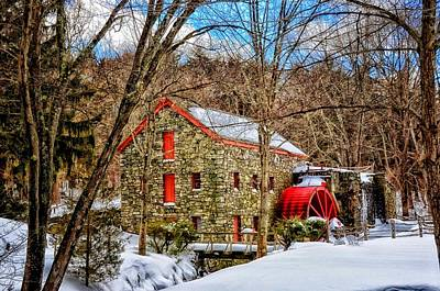Photograph - Wayland Grist Mill by Tricia Marchlik