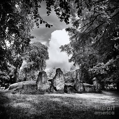 Photograph - Wayland's Smithy Long Barrow by Tim Gainey