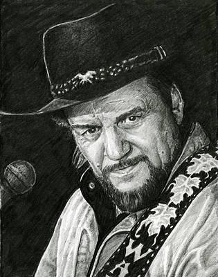 Waylon Art Print