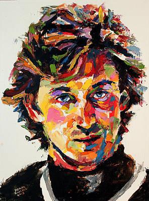 Wayne Gretzky Art Print by Derek Russell