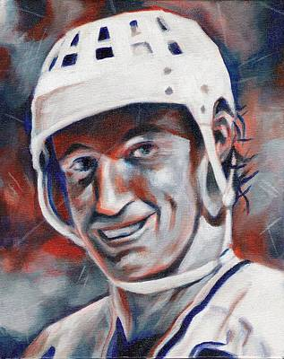 Wayne Gretzky Painting - Waynes World by Paul Smutylo