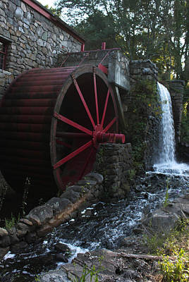 Old Mills Photograph - Wayside Inn II by Suzanne Gaff