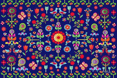 Wayuu Tapestry Art Print