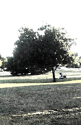 Wc Resting Tree Art Print by Nicki Bennett