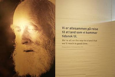 Knut Photograph - We Are All O N Our Way... by Mona Johansen