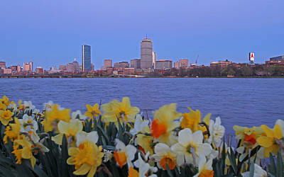 Charles River Photograph - We Are Boston by Juergen Roth