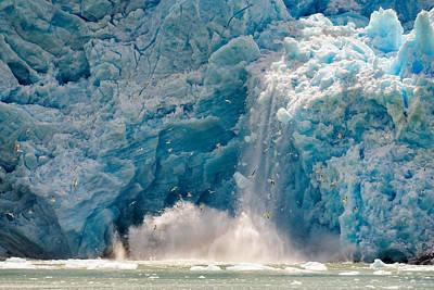 Fall Snow Wall Art - Photograph - We Are Melting by Carlos Guevara Vivanco