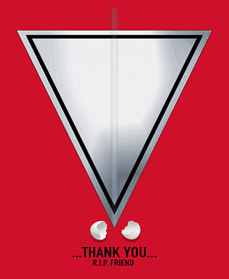 We Can Only Thank You  Print by Filippo B