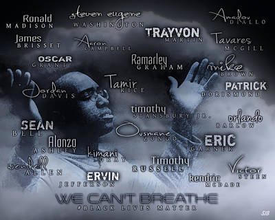 We Can't Breathe Art Print