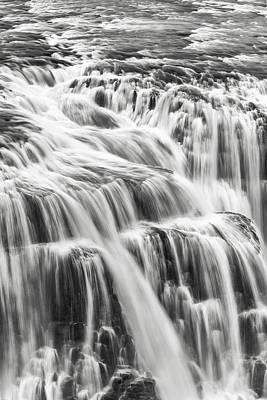 Framed Photograph - We Fall by Jon Glaser