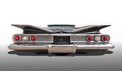Photograph - We Have Lift Off - 1960 Chevrolet Impala by Gill Billington