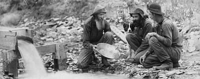 Gold Rush Photograph - We Have Nothing Circa 1889 by Aged Pixel
