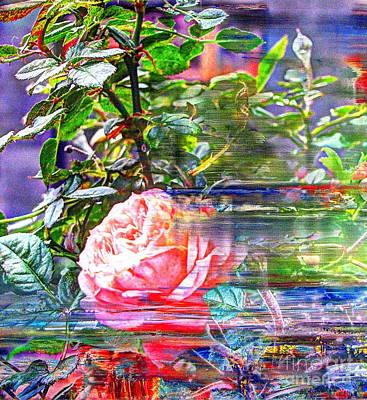 We Love Roses Outside The Window Art Print by Yury Bashkin