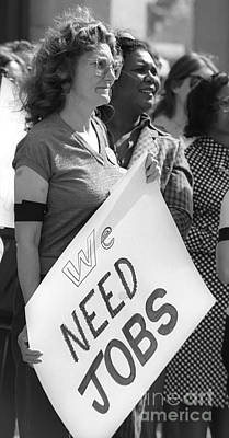 Photograph - We Need Jobs by Jim West