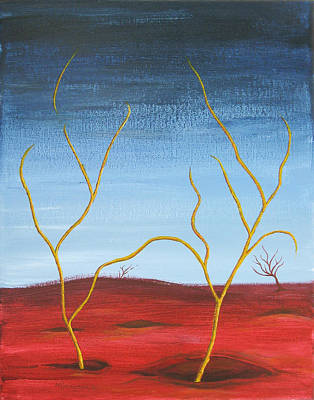 Painting - We Reunite Again by Michael Morgan