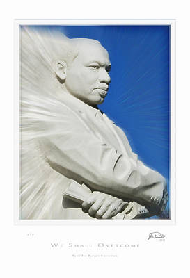 Martin Luther King Digital Art - We Shall Overcome by Joe Paradis