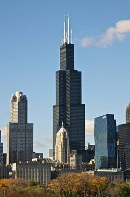 Photograph - We Still Call It The Sears Tower by Sheryl Thomas