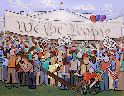 We The People Original by Anthony Falbo