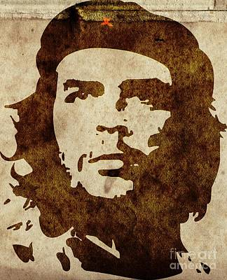 Che Painting - We The People - Che Guevara by T Lang