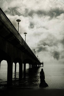 Vampire Photograph - We Who Fell In Love With The Sea by Cambion Art