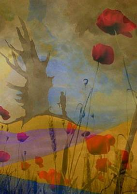 Painting - We Will Remember Them by Susan  Solak