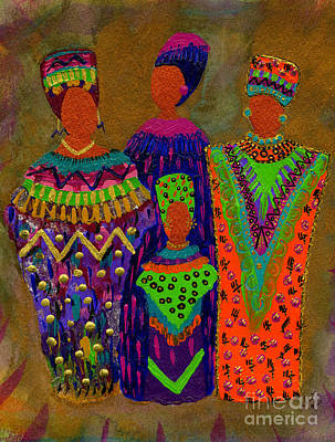 We Women 4 Art Print