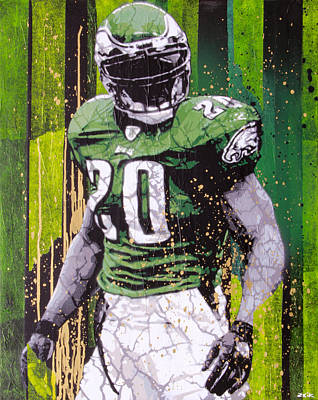Phillies Art Painting - Weapon X by Bobby Zeik