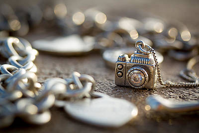Sterling Silver Photograph - Wear Your Camera by April Reppucci
