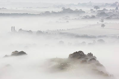 Photograph - Wearyall Hill From Glastonbury Tor by Nick Cable