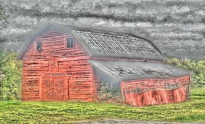 Photograph - Weather Barn by Sarah E Kohara