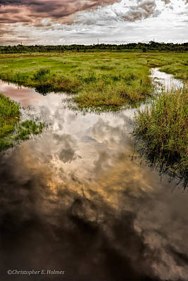 Photograph - Weather Reflected by Christopher Holmes