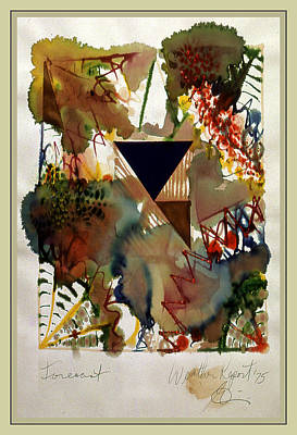 Pollack Mixed Media - Weather Report-forecast 2 by Guy Ciarcia