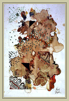Avant Garde Mixed Media - Weather Report- Hail  by Guy Ciarcia