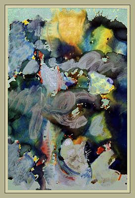 Pollack Mixed Media - Weather Report- Hurricane Warning by Guy Ciarcia
