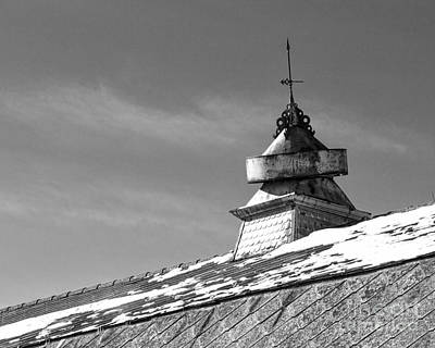 Barn Cupola And Weather Vane Art Print by Kent Taylor