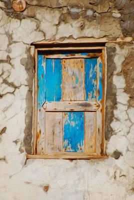 Agadir Photograph - Weather Worn Window by Tracy Winter