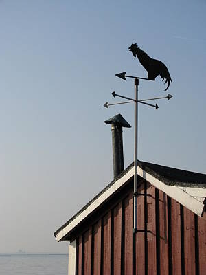 Photograph - Weathercock Malmo Europe by Eva Csilla Horvath