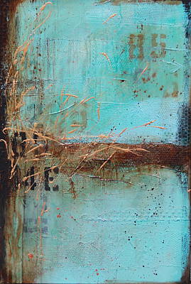 Painting - Weathered # 10 by Lauren Petit